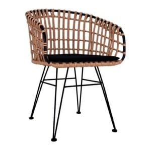 Градинско кресло с подлакътници