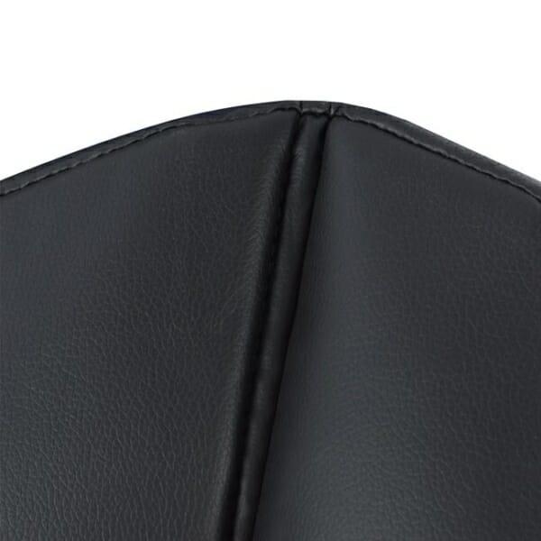 Кресло от метал и еко кожа - отблизо