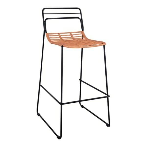 Минималистичен бар стол за градина