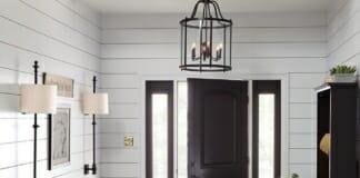 Осветление за антре и коридор: Видове осветителни тела, размери, позициониране