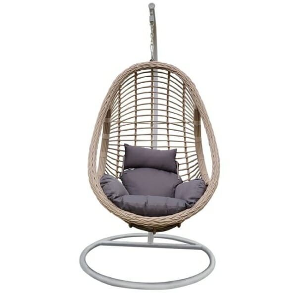 Висящо градинско кресло с възглавница Мирабел