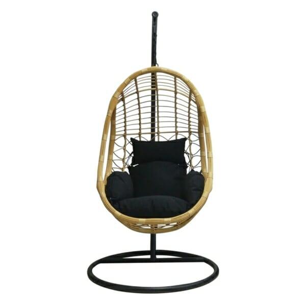 Висящо кресло за градина или балкон тип яйце