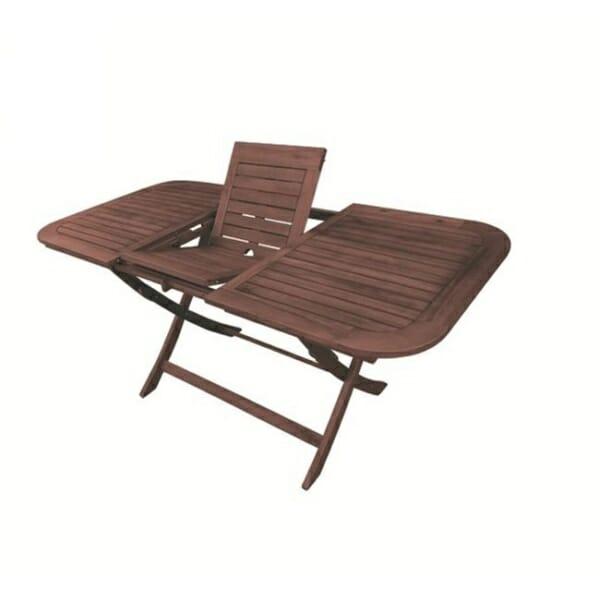 Дървена разтегателна маса за градина Хера