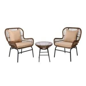 Градински сет от 2 кресла и масичка Варадеро