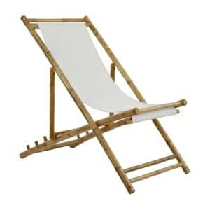 Градински сгъваем стол-шезлонг