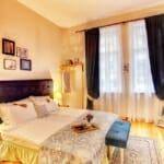 Guest House Sahat Tepe -спалня в романтичен стил