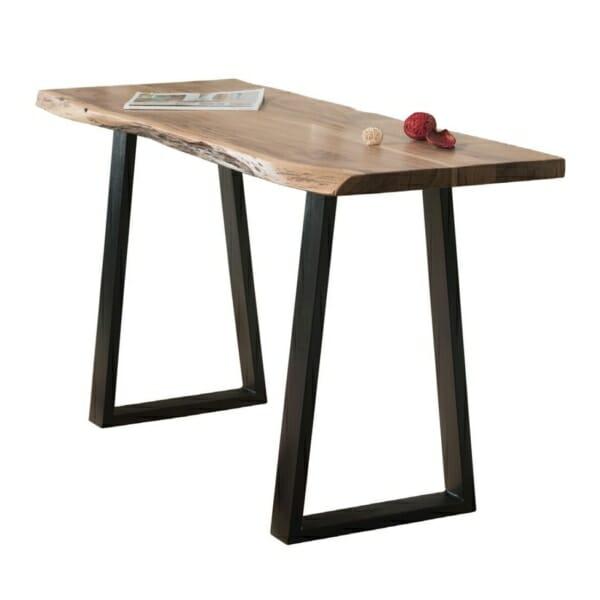 Конзолна маса с уникален плот от масив серия Данте