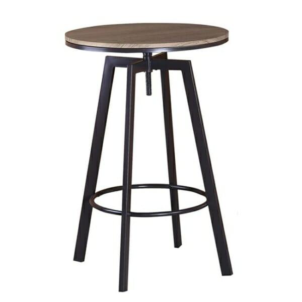 Кръгла бар маса с регулируема височина серия Рони