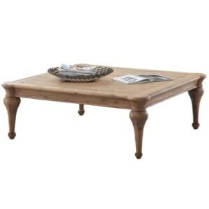 Квадратна холна маса от дърво в класически стил серия Сиси
