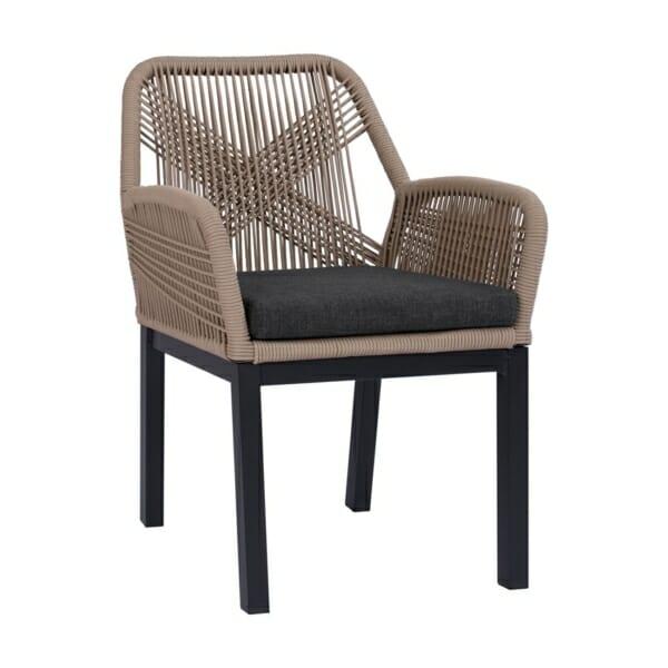 Модерно градинско кресло серия Масара в бежово