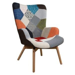 Модерно кресло в стил пачуърк