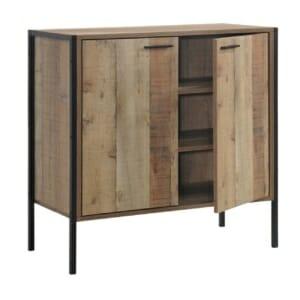 Шкаф с 2 вратички в цвят античен дъб серия Пако