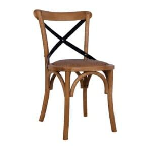 Трапезен дървен стол от бряст