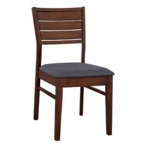 Трапезен дървен стол в ретро визия