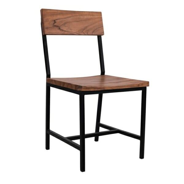 Трапезен стол в индустриален стил серия Антар
