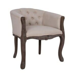 Винтидж кресло от състарено дърво серия Лорена