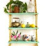 идеи за етажерки за стена: Направи си сам етажерка за кухненската стена