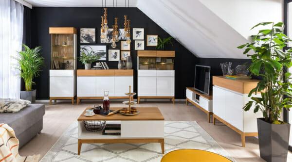 Модулна система от мебели за всекидневна Киото