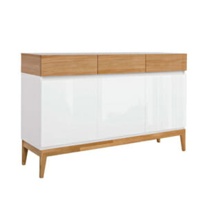 Функционален шкаф с 3 чекмеджета и 3 вратички Киото