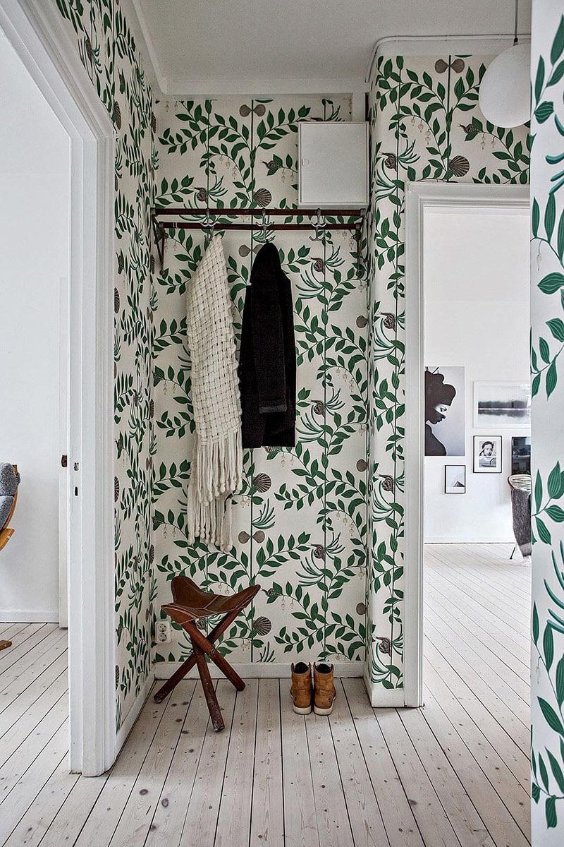 10 Интересни идеи за декорация на антре: Флорални мотиви