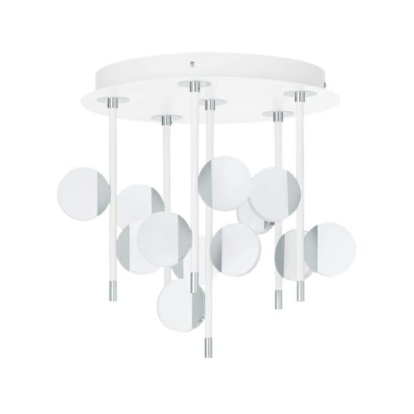 Интериорен LED плафон с 12 осветителни тела Olindra