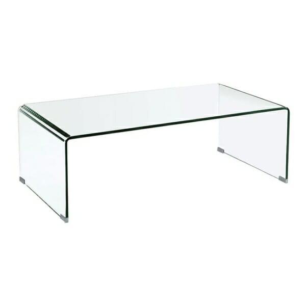 Правоъгълна холна маса от стъкло Глостър