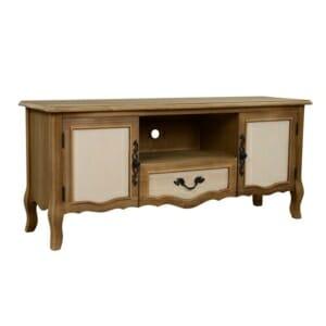 ТВ шкаф в ретро дизайн с извити елементи серия Амилия