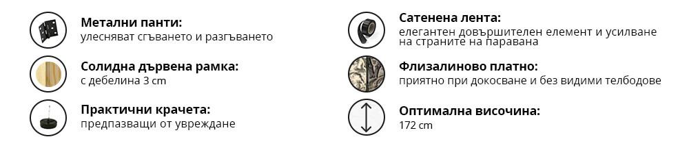 Характеристики на интериорни паравани от GRANDecor-2