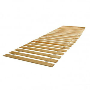 Дървена подматрачна рамка за единично легло 90 х 200 см