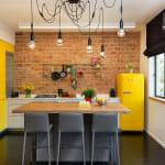 Кухня с жълти акценти - Julia Staroselsky