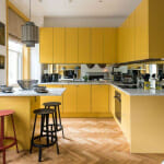 Модерна жълта кухня - Tribe Creative