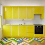 Ярко жълта кухня - Alma-nac - Jack Hobhouse