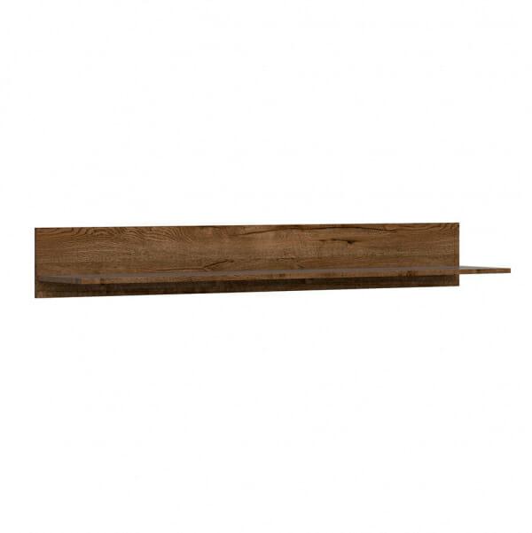 Стенен рафт със заден панел Русо