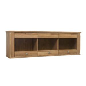 Стенен шкаф с 3 стъклени вратички Берген