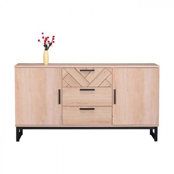 Стилен скрин с 3 чекмеджета и 2 шкафа серия Алана