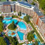 Луксозни СПА хотели на морето: Фламинго Гранд-снимка на хотела отгоре