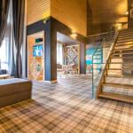 Най-луксозните спа хотели в България - Арте СПА & Парк - вътрешно стълбище