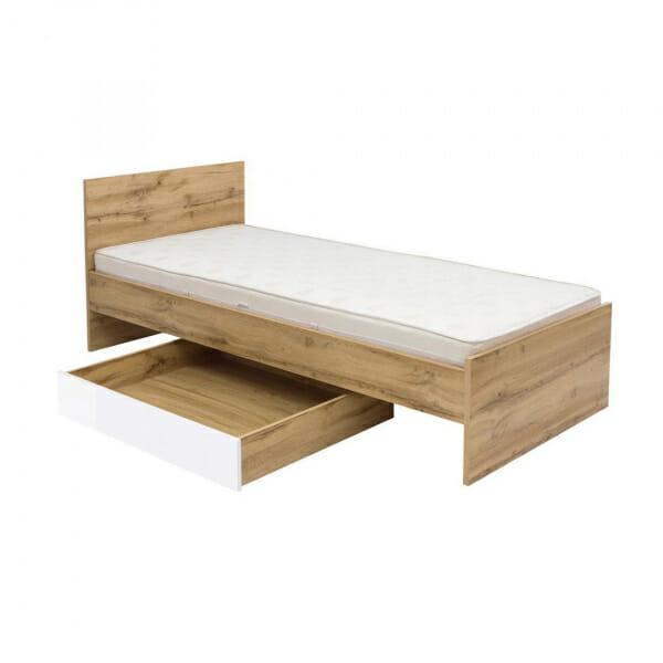 Единично легло в цвят дъб вотан Зелле - разпределение
