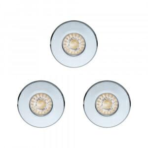 К-т от 3 led спот за баня Eglo серия Igoa (3 варианта) - хром