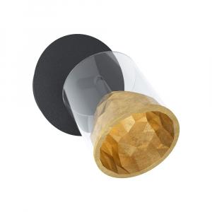 LED спот аплик в златно и черно Eglo серия Melito