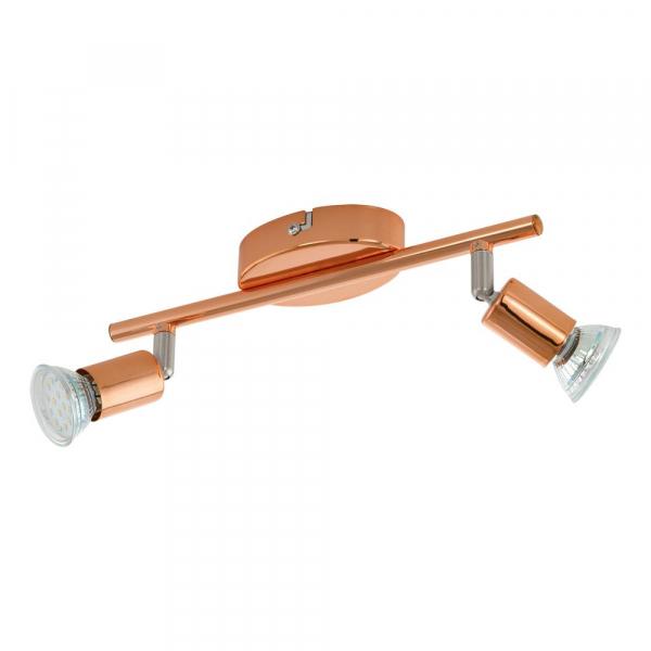 LED спот в розово злато Eglo серия Buzz-copper (3 варианта)