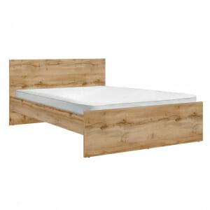 Легло за матрак 160 х 200 см в дървесен цвят Зелле