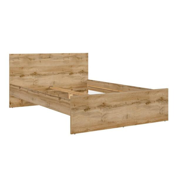 Легло за матрак 160 х 200 см в дървесен цвят Зелле - без матрак