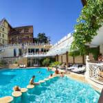 Спа хотел Рич, Велинград - външен басейн