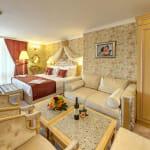 Луксозен Спа хотел Рич, Велинград - романтична спалня