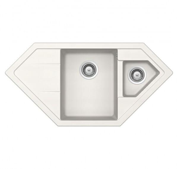 Мивка за кухня с нестандартна форма SCHOCK Signus C150-Polaris