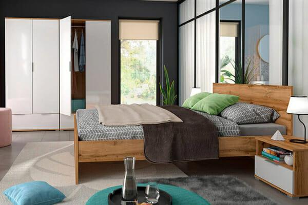 Модулна система Зелле за спалня