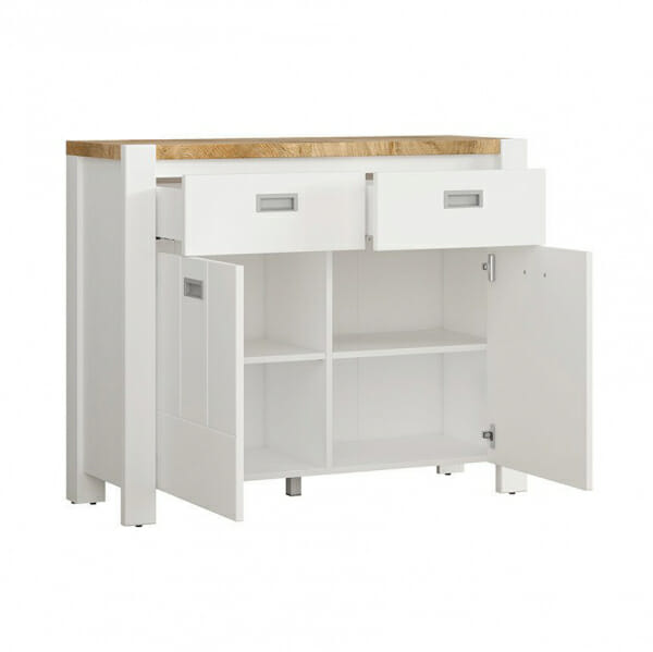 Шкаф с 2 вратички и 2 чекмеджета Древизо - разпределение