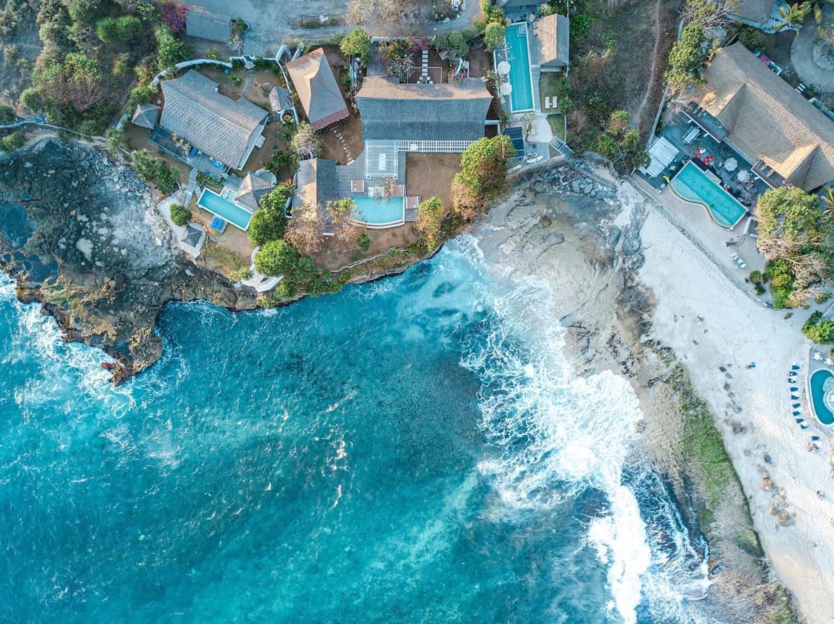 Частен ваканционен дом - гледка отгоре
