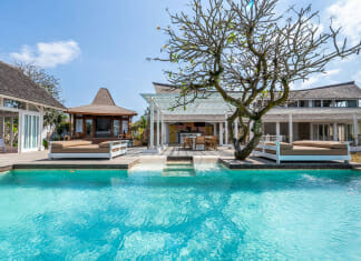 Луксозна вила в Бали с басейн